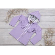 Sparrow Softshellová bunda s fleecem Fialová+kanýrek