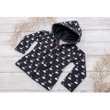 Sparrow Softshellová bunda bez zateplení Černá+Labutě