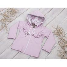 Sparrow Softshellová bunda bez zateplení Růžová+Kanýrek