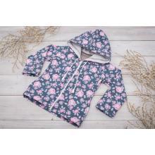 Sparrow Softshellová bunda bez zateplení Šedá+Růže