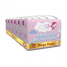 MonPeri Klasik Mega Pack jednorázové pleny