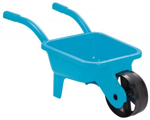 Ecoiffier Zahradní kolečko plastové žluté/modré