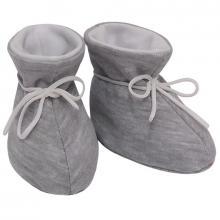 Esito Kojenecké botičky bavlna velké jednobarevné melír šedý