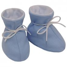 Esito Kojenecké botičky bavlna velké jednobarevné modré