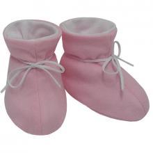Esito Kojenecké botičky bavlna velké jednobarevné růžové