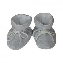 Esito Kojenecké botičky plyš velké melír šedý