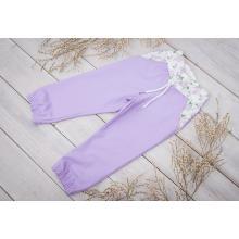 Sparrow Softshellové kalhoty s fleecem Lila+šeřík