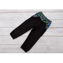 Sparrow Softshellové kalhoty s fleecem Černé+Grafity+zelená