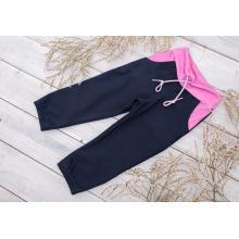 Sparrow Softshellové kalhoty bez zateplení Modré+Růžová