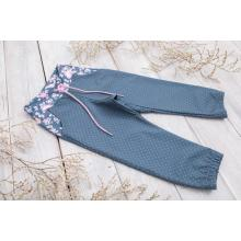 Sparrow Softshellové kalhoty bez zateplení Šedé+Růže