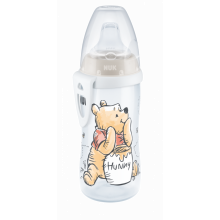 Nuk First Choice Active Cup láhev Disney Medvídek Pú, 300 ml, 6m+