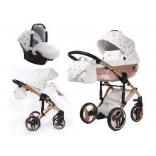 Kočárek Junama Glow 3v1 s autosedačkou BabySchild Glow 2021