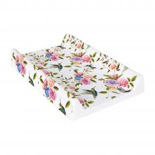 Ceba baby Přebalovací podložka Flora & Fauna s pevnou deskou Comfort 70x50 cm