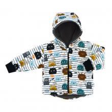 Esito Dětská zimní bunda BIO Příšerky
