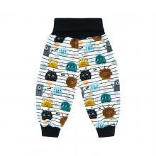 Esito Dětské zateplené kalhoty BIO Příšerky