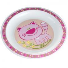 Canpol babies plastový talíř Happy Animals