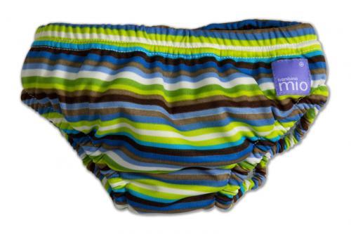 Bambinomio kalhotky na koupání - Brown Stripe