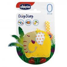 Chicco řetízek na dudlík textilní Slon