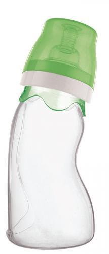 Farlin kojenecká láhev silikonová bez obrázku 240 ml