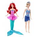 Mattel Disney Princess kouzelná Ariel + Disney Princezna do koupele