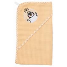 Bébé-Jou ručník s kapucí vaflový vzor