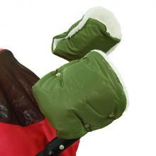 Emitex Rukávník ke kočárku/rukavice + kožich