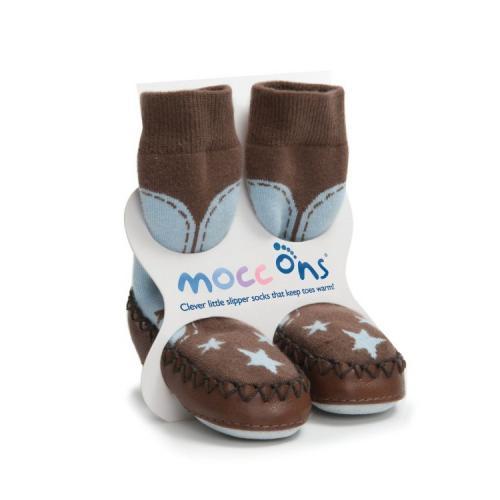 MOCC ONS® ponožkové mokasíny 6-12 měsíců