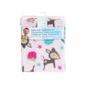 Honey Bunny fleecová deka s potiskem 76x92 cm