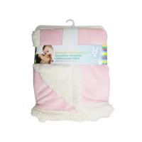 Honey Bunny oboustranná fleecová deka 76x91 cm