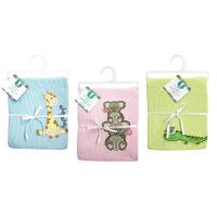 Honey Bunny deka lehká s aplikací 76x76 cm