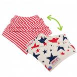 Red & Blue Stars / Red Gingham