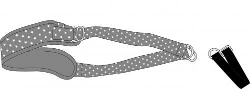 Dooky Carrier - popruh na přenášení autosedačky