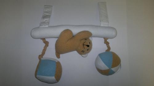 Canpol babies plyšové chrastítko na zavěšení