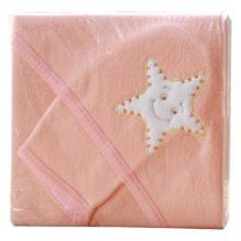 Scarlett ručník s kapucí froté s žínkou