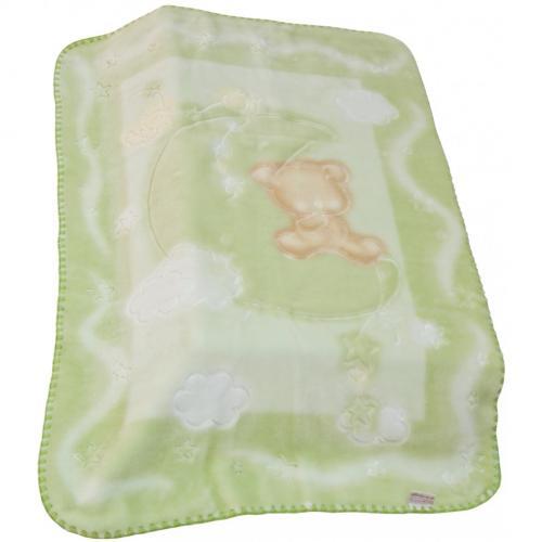 Scarlett Španělská deka akrylová - vytlačený vzor 536