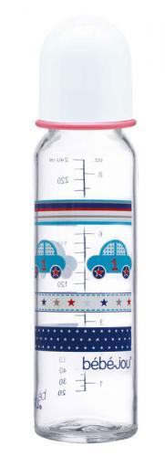 Bébé-Jou skleněná lahvička 240 ml