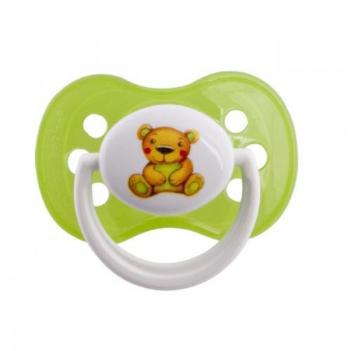 Canpol babies dudlík silikonový symetrický 18m+ MILKY