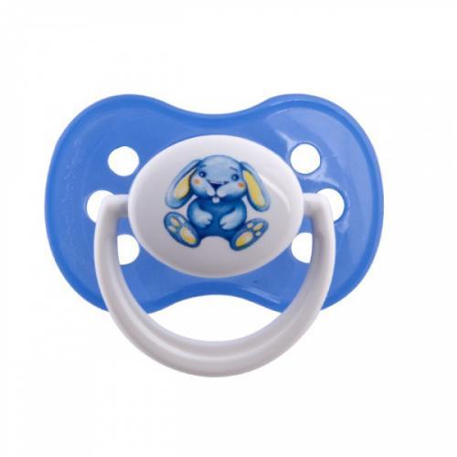 Canpol babies dudlík silikonový symetrický 6-18m MILKY