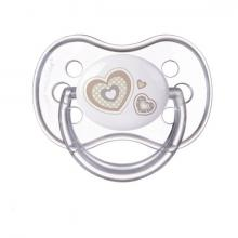 Canpol babies dudlík silikonový symetrický Newborn Baby 0-6m