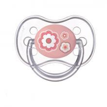 Canpol babies dudlík silikonový symetrický Newborn Baby 18m+