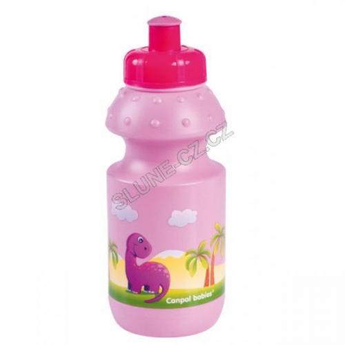 Canpol babies pohárek s uzavíratelným pítkem DINO