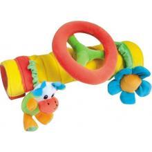 Canpol babies plyšová hračka na madlo s volantem
