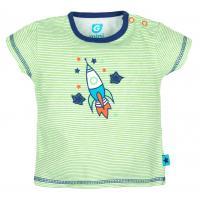 Gmini tričko s krátkým rukávem Raketa zelená