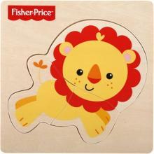 Fisher-Price Puzzle dřevěné 3 dílky