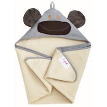 3 Sprouts Hooded Towel - osuška s kapucí