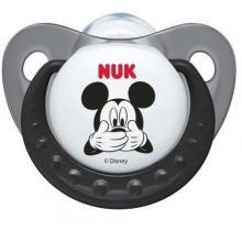 Nuk dudlík silikonový Trendline Mickey Mouse  0-6 m