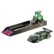 Mattel Cars Závodní vystřelovač
