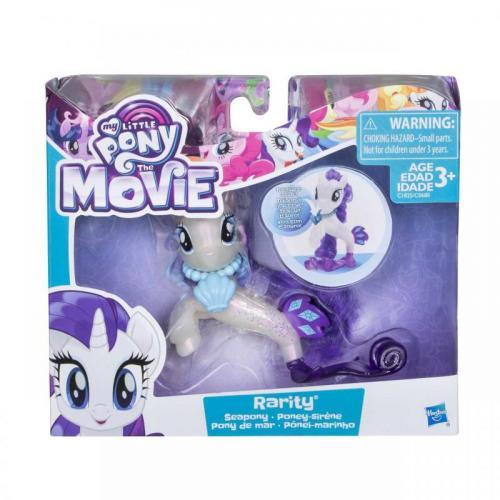 Hasbro My Little Pony Mořský poník s doplňkem a pohyblivým ocáskem 7,5 cm