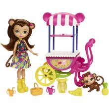 Mattel Enchantimals herní set na kolech