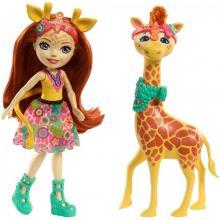 Mattel Enchantimals Panenka s velkým zvířátkem